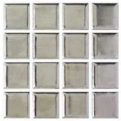 Ceramic Pool Gloss Silver Mosaic Ceramic Pool Tile