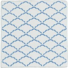 Winchester Residence Manoir Nuage Papyrus Tile 13 x 13cm