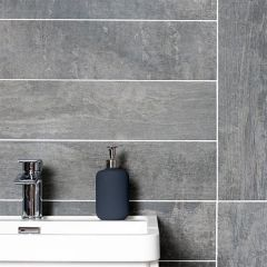 Wood Cemento Grey Tile 15 x 90cm