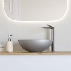 Crosswater Circus Brushed Stainless Steel Effect Basin
