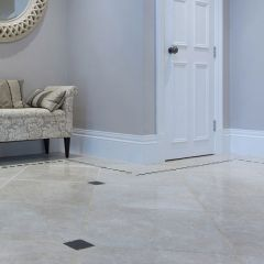 IS St Moritz Brushed & Chiselled Edge Marble 40.6 x 61cm