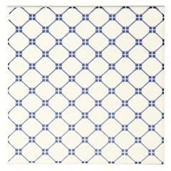 Odyssey Blue Tapestry Marquee Blue 15.2 x 15.2cm