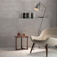 Porcelanosa Image White tile collection - wall, floor and decor tiles
