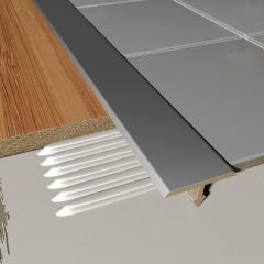 T Shaped Cover Strip Stainless Steel 2.5m