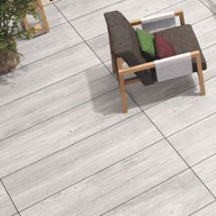 Toscanawood Ice Outdoor Tile 40 x 120cm