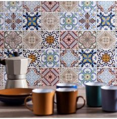 Kinetic Fable Patterned Mosaic 29 8 X 29 8cm Tiles And Bathrooms Online