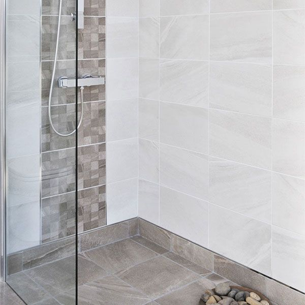Fiji White Wall Tiles 25 X 40cm Tiles And Bathrooms Online
