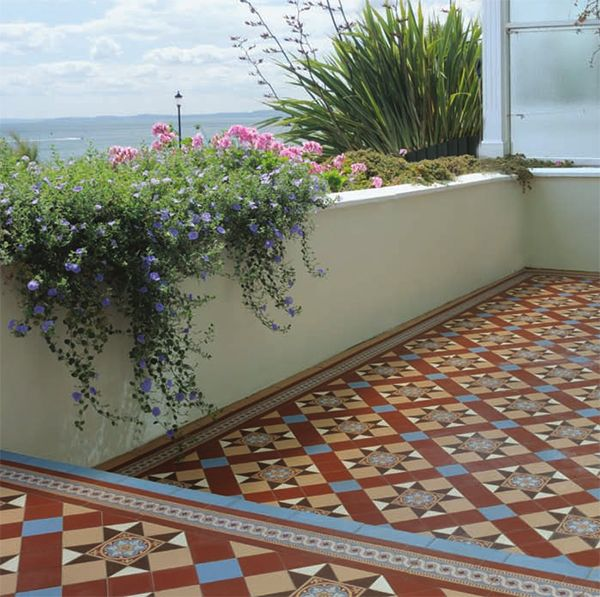 Blenheim Pattern Tile by Original Style | Tiles and