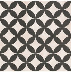 Feature Floors Bertie Black & Ivory 33.1 x 33.1cm