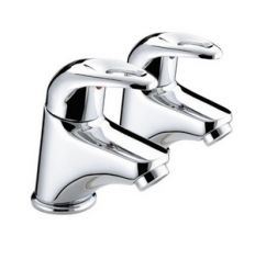 Bristan Java Basin Pillar Taps (Pair)
