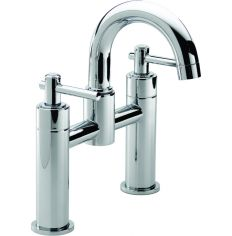 Trio Lever Head Bath Filler Tap