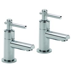 Trio Lever Head Bath Taps (Pair)