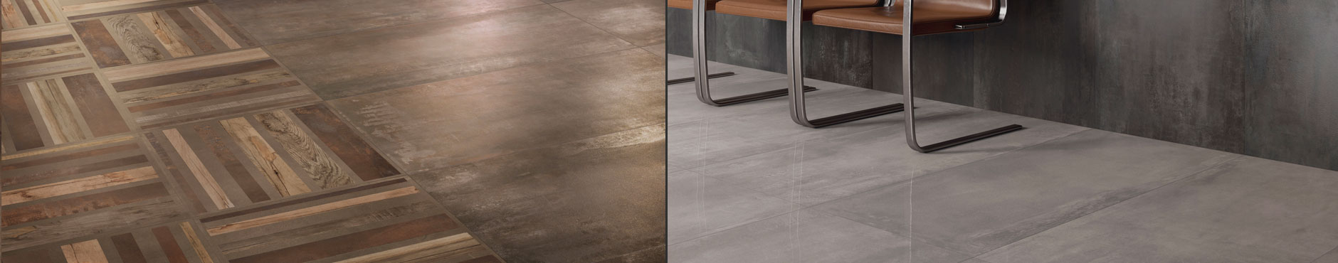 ABK Interno 9 metallic effect tiles
