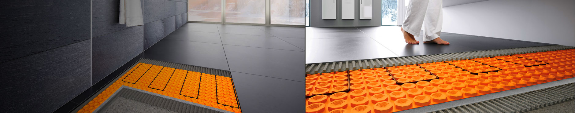 Schlüter-Systems Underfloor Heating