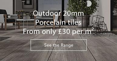 Outdoor 20mm tiles