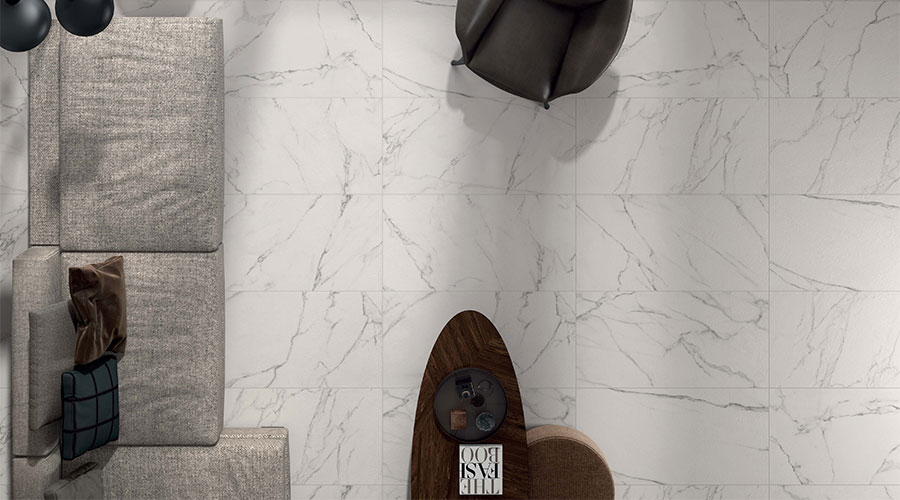 Marble effect wall & floor tiles