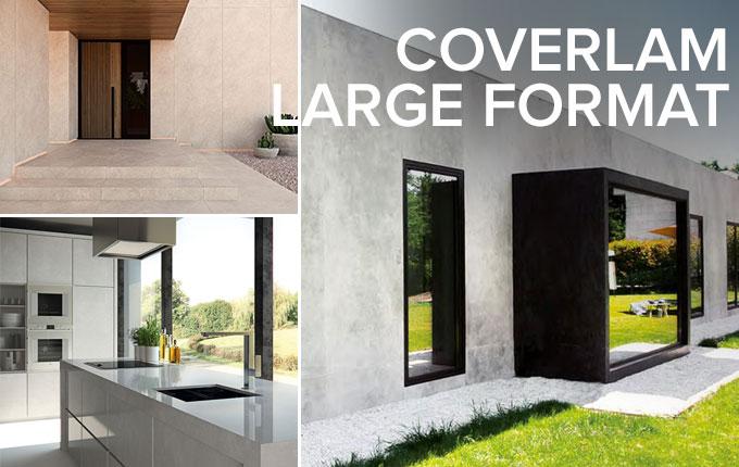 Coverlam large format tiles
