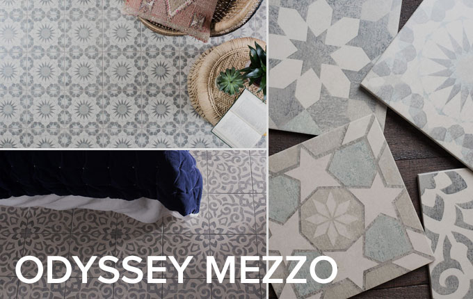 Odyssey Mezzo tile collection by Original Style