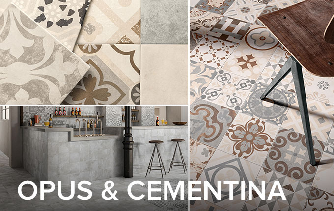 Opus & Cementina collections by Casalgrande