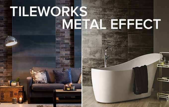 Tileworks Metal Effect tile collection by Original Style