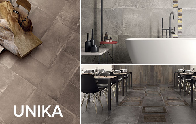 Unika tile collection by ABK