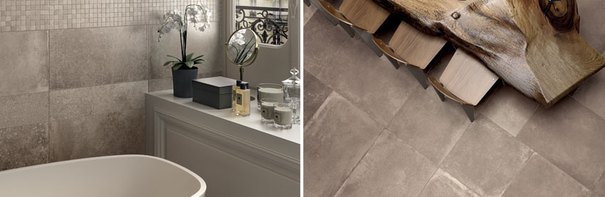 Unica wall and floor tiles