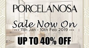 Porcelanosa Sale - Up to 40% Off RRP