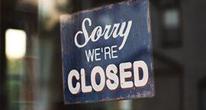 Covid-19 update - Online Closure