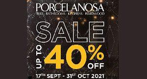 40% Off Porcelanosa Sale